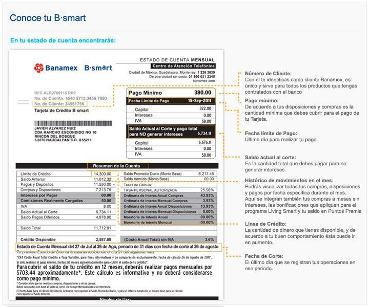 Banamex: Credi Nissan Estado De Cuenta
