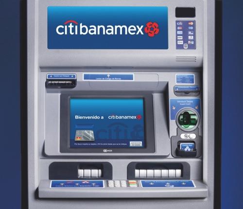 Nuevos cajeros citibanamex atm for Como cobrar en un cajero automatico