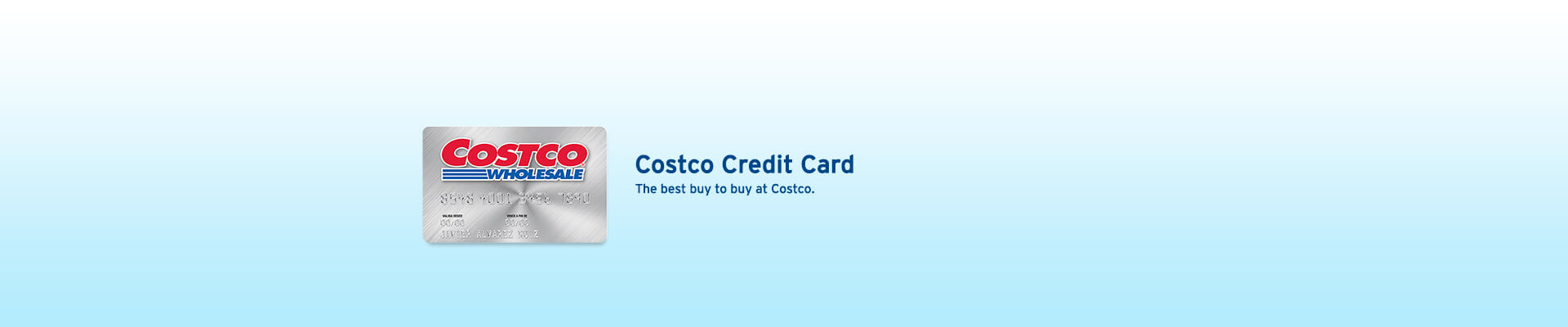 Exclusive promotions with your Costco credit card