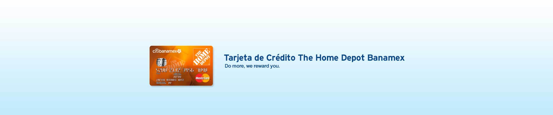 The home depot banamex credit card banamex do more with your home depot credit card reheart Gallery